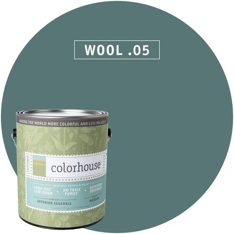 """""""Healthier paint""""  Paint by Colorhouse WOOL .05"""