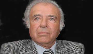 Menem solicitó la suspensión del juicio por encubrimiento que enfrenta por la causa AMIA