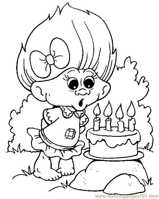Trolls birthdays pinterest colorante y p ginas para for Trolls smidge coloring page