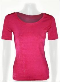 Feel Good Shirt kurzarm in Pink changierend #OUTLETMODE, #Designeroutlet, #Outlet, #MODE , #Shirt,  #Bluse  - #DESIGNERMODE GÜNSTIG ONLINE alles immer 50% reduziert