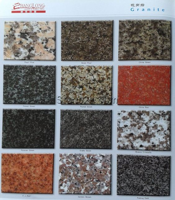 Popular Granite Colors : Pinterest the world s catalog of ideas
