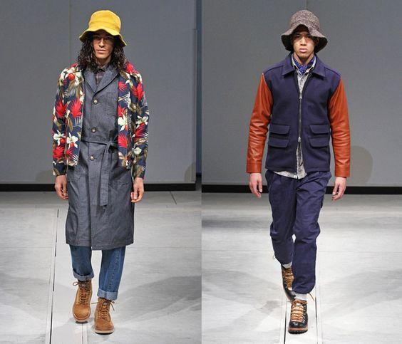 (4) Creative Taiwan: Wisdom - Mercedes-Benz Fashion Week Tokyo: Japan Fashion Week: Denim & Jeanswear 2013-2014 Fall Winter Mens Runways I
