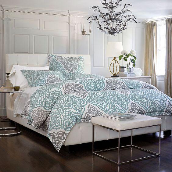 Charisma® Como Matelasse Coverlet & Sham: 28Centsational Girl, Duvet Covers, Guest Bedroom, Master Bedroom, House Idea, Bedroom Legends, Idea Legends
