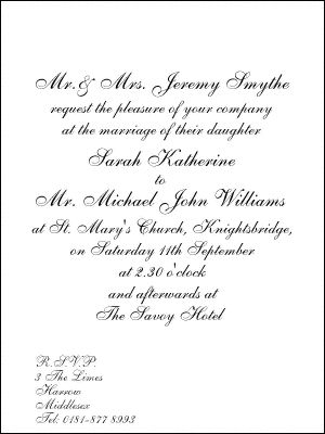 icanhappy formal wedding invitations (36) #weddinginvitations - Formal Business Invitation
