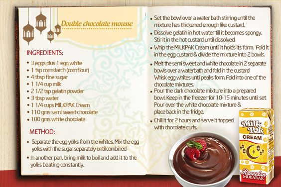 Double Chocolate Mouse