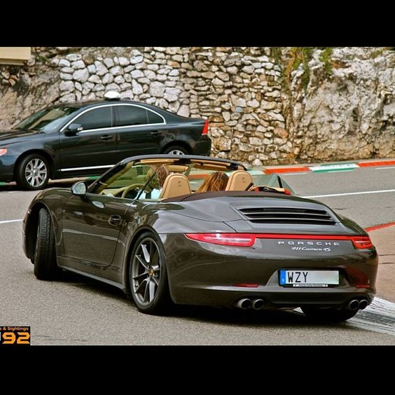 Carrera 4s Cabrio in action! #Carsighter1 #porsche #carrera #4s  #instagood #cute #photooftheday #follow #picoftheday #like #beautiful #instadaily #followme #tagsforlikes #instamood #bestoftheday #instalike #amazing #carporn #cargramm #supercars #carspotter #spotter#instafamous #supercars #dreamcars #cars #arabcars #follow4follow