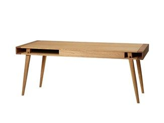 Rectangular solid wood coffee table POET | Coffee table - Nordic Tales