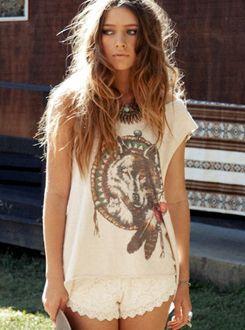 Wolf shirt!