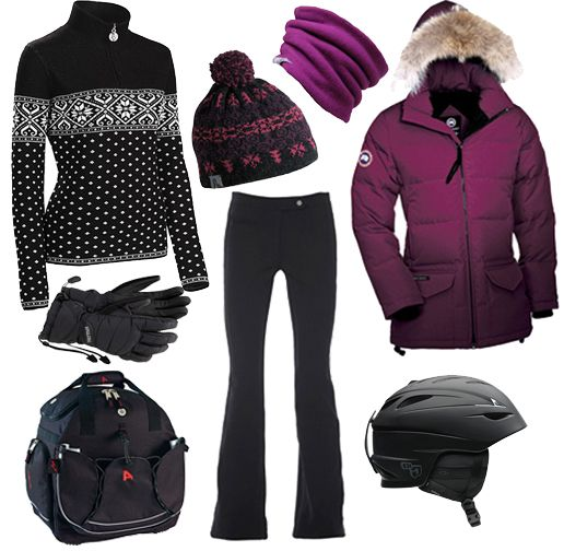 Canada Goose hats replica cheap - If I did go skiing again, this is what I would wear. ;) | fashion ...