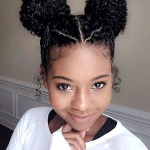 Simple Curly Mixed Race Hairstyles For Biracial Girls With Images