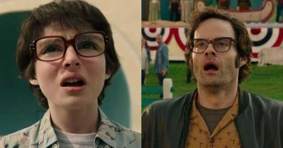 8. Finn Wolfhard And Bill Hader, Richie Tozier ('It Chapter 2'):