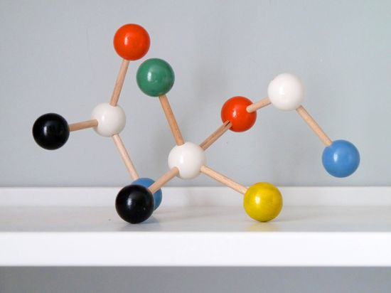 how to make dopamine with the molecular modelling kit
