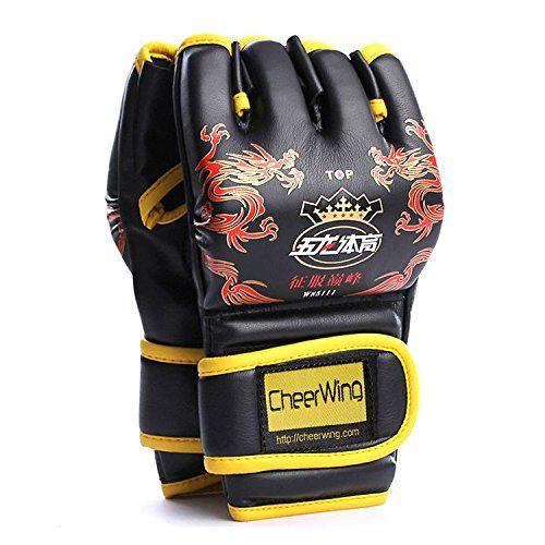Full Finger Boxing Gloves Punching Mitts Training Gloves Kickboxing Gloves MMA