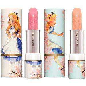 Alice in Wonderland lipsticks
