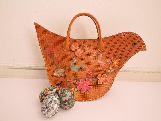 mina perhonen ミナペルホネン tori bag とりバッグ (ba80-1601-7)