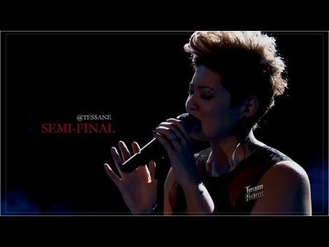 "Tessanne Chin ""Bridge Over Troubled Water"" The Voice USA Season 5 ..."