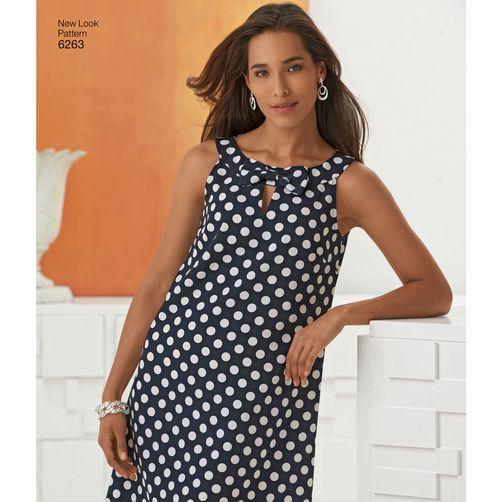 Misses' A- Line Dress:
