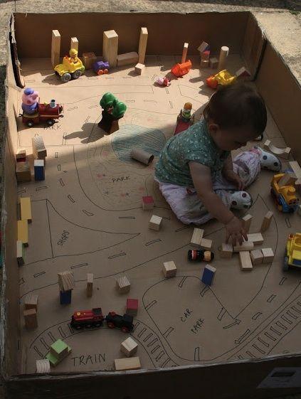 Build a Cardboard Town