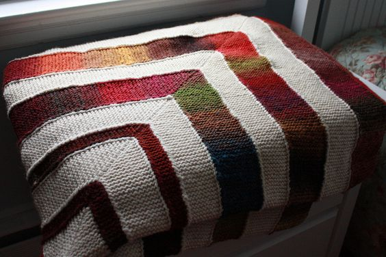 Knitting Pattern For 10 Stitch Blanket : Ten Stitch Blanket Knitting Pinterest Stitches ...