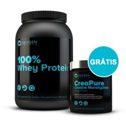 100% Whey Protein 2lb (907g) + Creatine Creapure 300g GRÁTIS