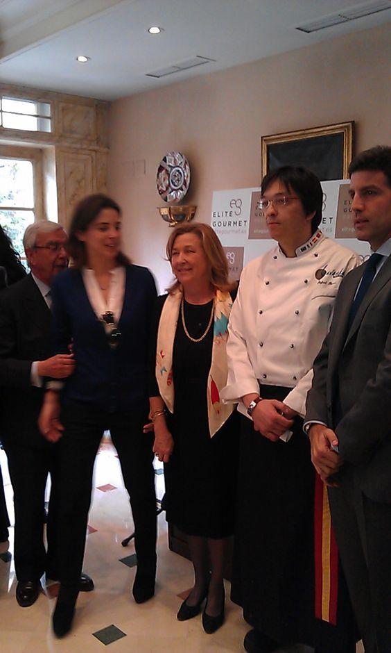 Los mejores productos y los mejores chefs españoles.