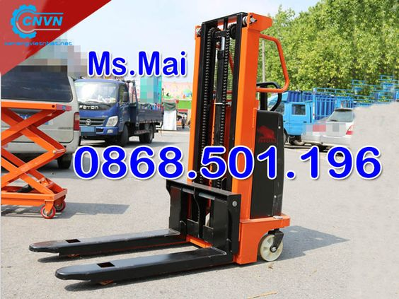 Xe nâng bán tự động 1.5 tấn cao 2m hiệu quả nhất về chiều cao - 255104