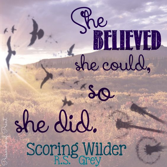 Scoring Wilder by @R.S. Grey