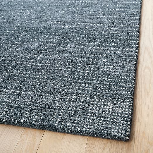 Graduated Dot Rug Navy 5 X8 In 2020 Rugs Solid Color Rug Natural Rug