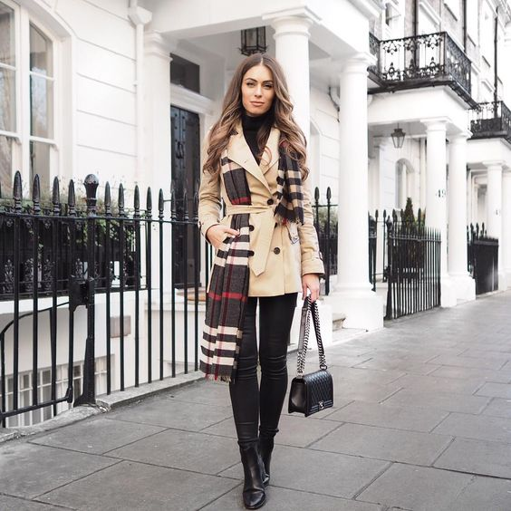 「The iconic Burberry trench is one of the most exciting purchases I've made this year and as part of my collaboration with @farfetch I'm doing a three part…」 Lydia Elise Millen waysify
