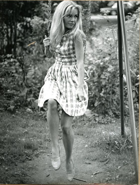"""Tuesday Weld in """"Pretty Poison"""" (1968)."""