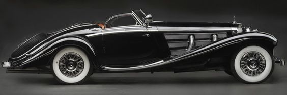 mercedes roadster from 1936.  WOW.