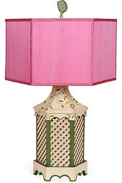 Chinoiserie Chic with a punch of PINK!: