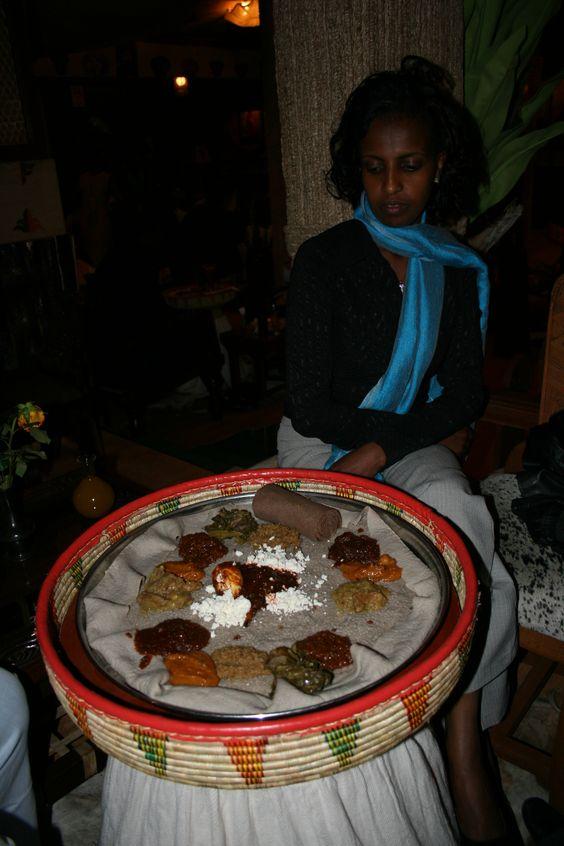 Nationalspeise in Äthiopien