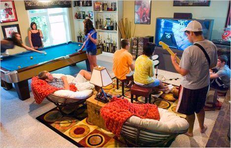 Como Decorar Una Sala De Juegos