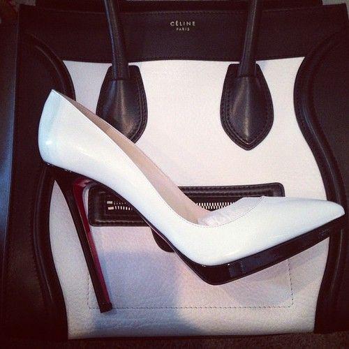 Don't like Céline, but loooove the shoe. <3