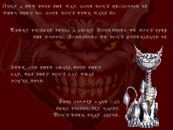 cheshire cat quotes alice madness returns stuff. Black Bedroom Furniture Sets. Home Design Ideas