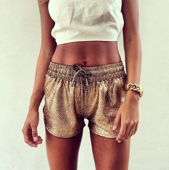 Amazing Bronze Shorts
