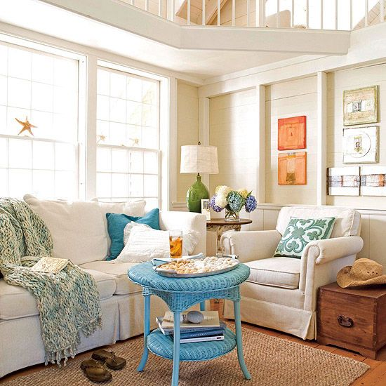love this!! the combination of natural light, neutral furnishings and colorful accessories - perfect.