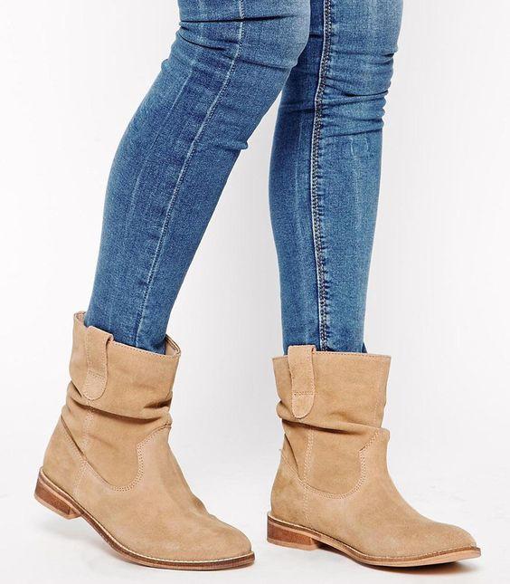 LIKE DESIGNER ISABEL MARANT ~ 'Crisi' Style Slouch Ankle Booti ...