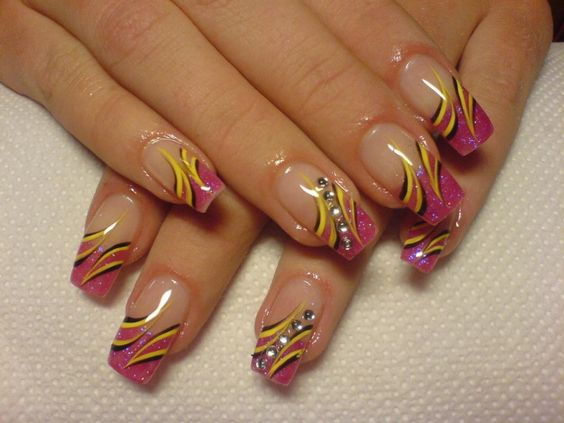 Multi Colored Nail Designs Charming Nail Design