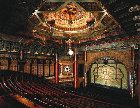 Inside 5th Avenue Theater;
