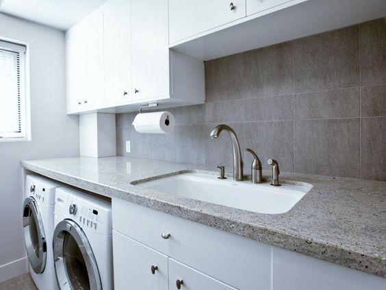 Granite Laundry Sink : laundry modern laundry rooms functional folding lavish laundry laundry ...