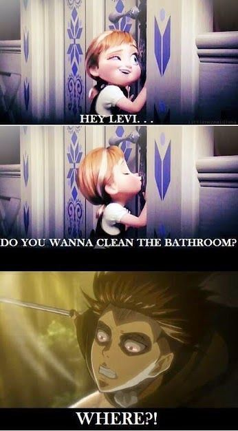 levi : muST CLEAN:
