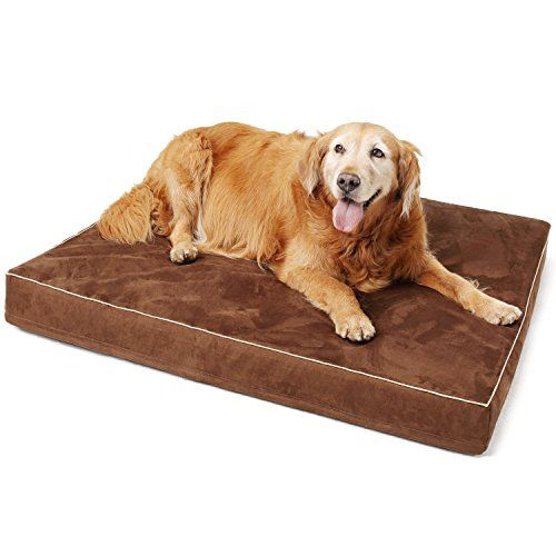 Papa Pet Solid Memory Foam Orthopedic Dog Bed With Durable Waterproof Lining Removable Washable Cover For Orthopedic Dog Bed Dog Pet Beds Memory Foam Dog Bed