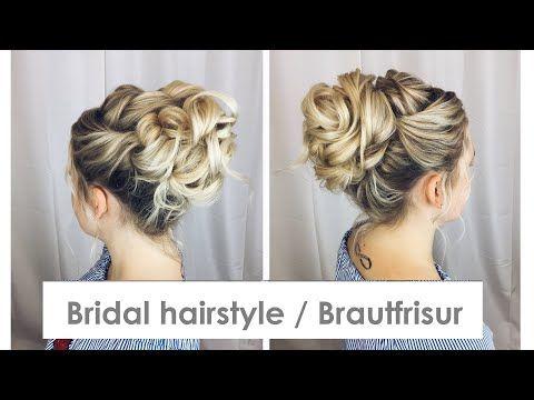 Brautfrisur Hochsteckfrisur Tutorial Bridal Hairstyle Tutorial Youtube Brautfrisur Hochsteckfrisuren Tutorial Frisur Hochgesteckt