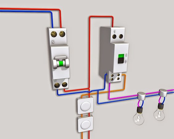 Si Vous Voulez En Savoir Plus Sur Schéma Electrique Télérupteur Unipolaire Bipolaire Branchement D Un Télérupteur Câbl Schéma électrique Electrique Schéma