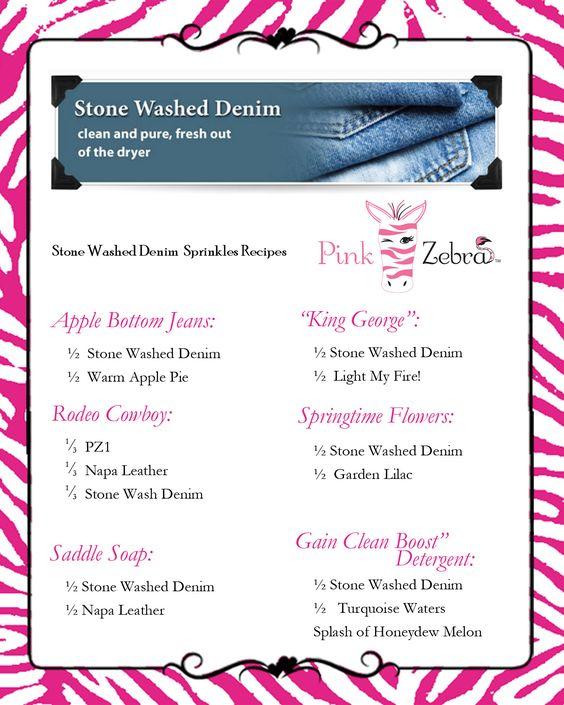 Stone Washed Denim www.pinkzebrahome.com/lancasterscents lancasterscents@gmail.com