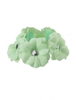 Flower Donut Bun Accessory