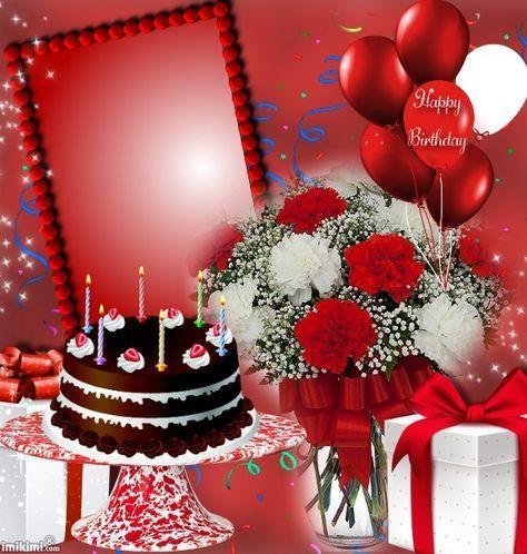 Pin By Sonia Franco On Raina Happy Birthday Frame Happy Birthday Wishes Cake Happy Birthday Wishes Photos