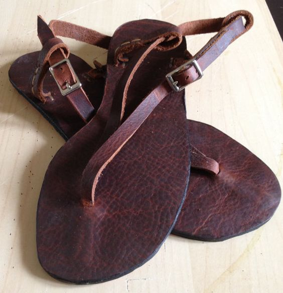 Lola Leather Sandals by TheSaddlebagCo on Etsy, $60.00